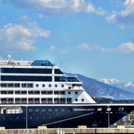 Azamara Cruise Ship Corsica France