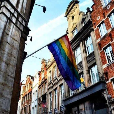 LGBT Pride Flag, Brussels gay belgium