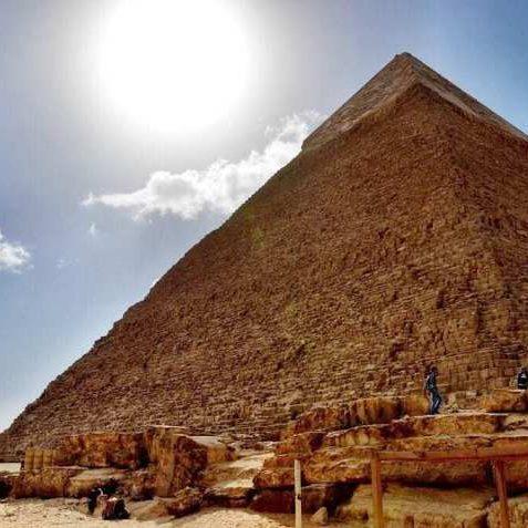 Pyramid of Khafre Cairo Egypt