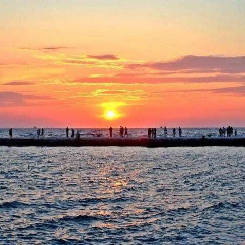 Zadar Croatia sunset